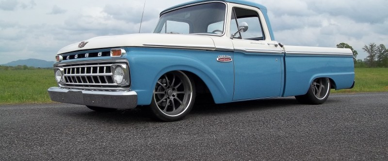 Butler's 65 Ford Pick Up
